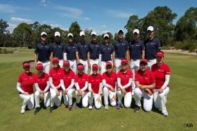 2016 호주아마에 참가한 한국대표팀 선수단